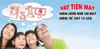 vay tien khong the chap khong chung minh thu nhap
