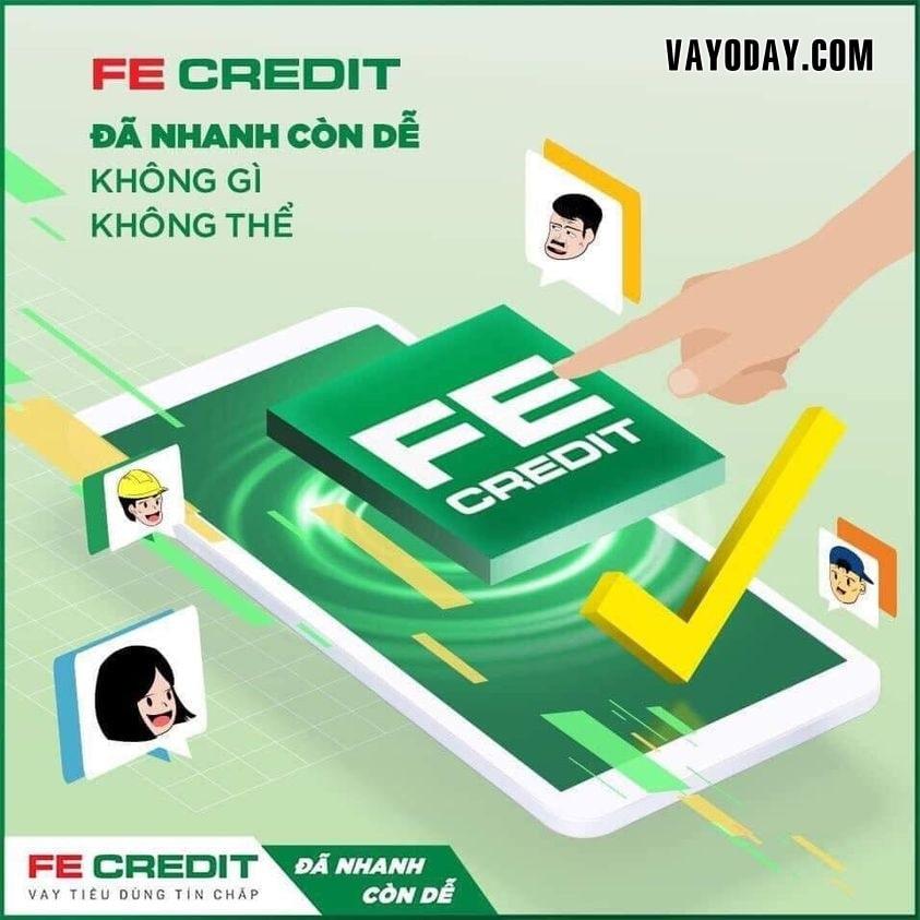 Dang no fe credit co vay them duoc khong